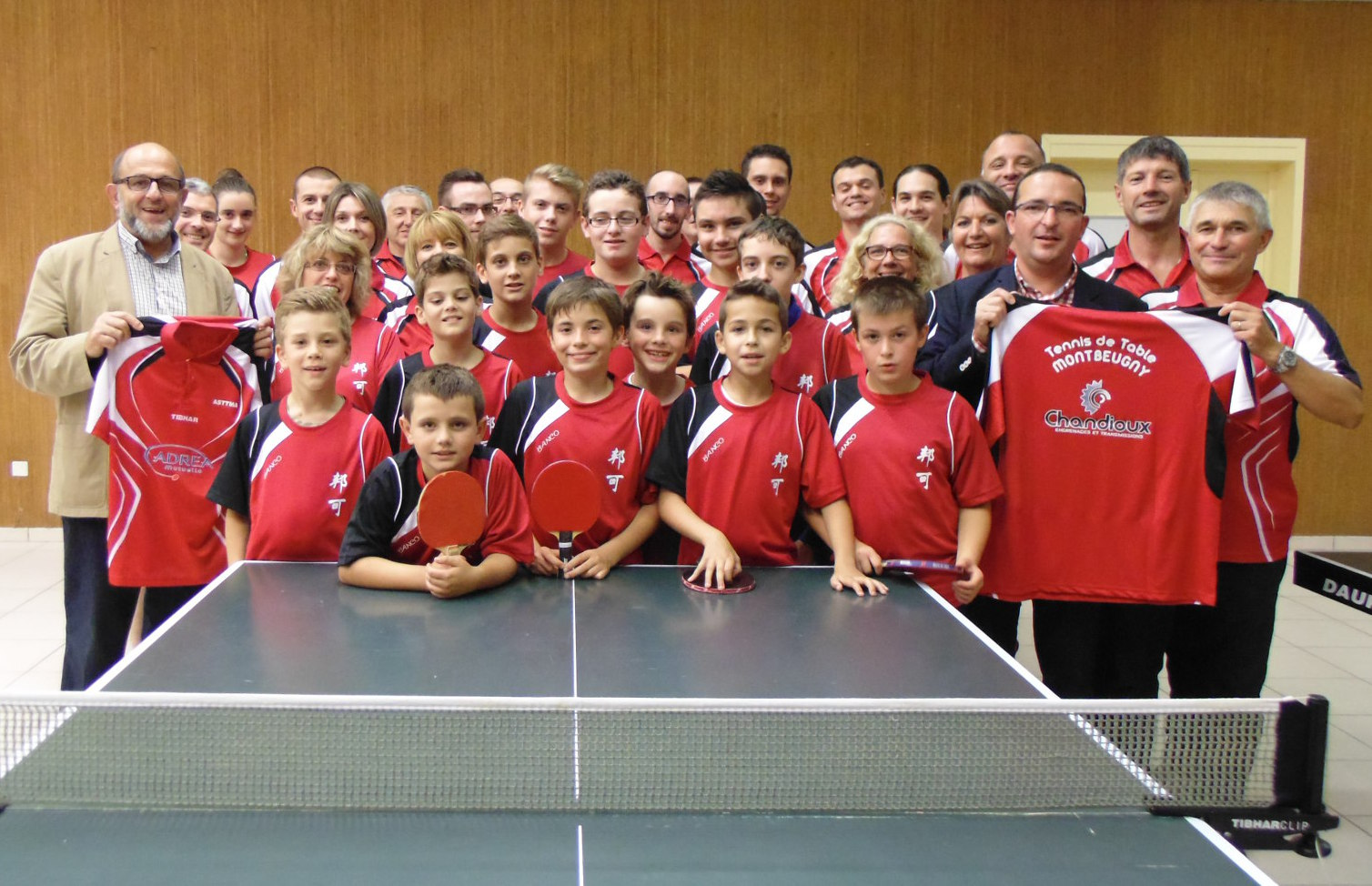 club - maillots Association Sportive Tennis de Table Montbeugny Auvergne ASTTMA ASTTM